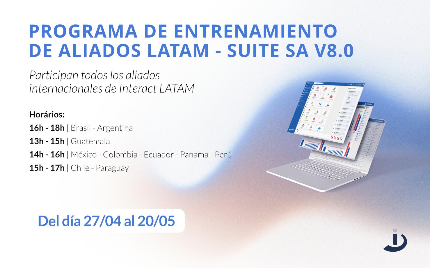 Interact Latam promove treinamento com parceiros internacionais